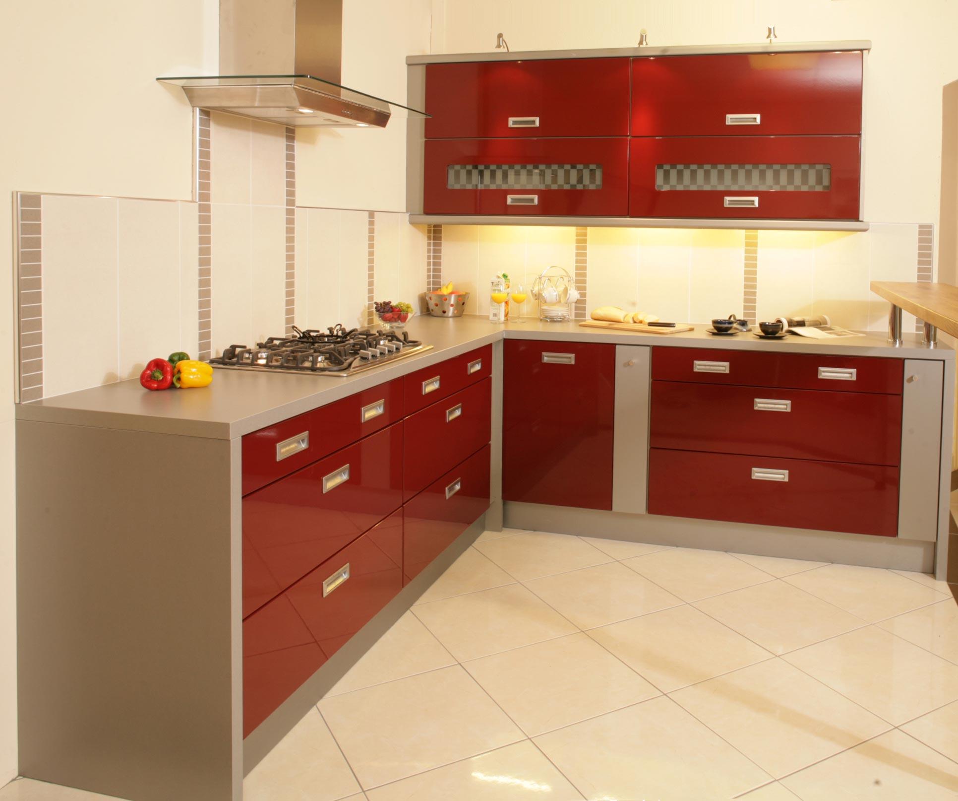 Kitchen Set L Design: Kitchen Design 6