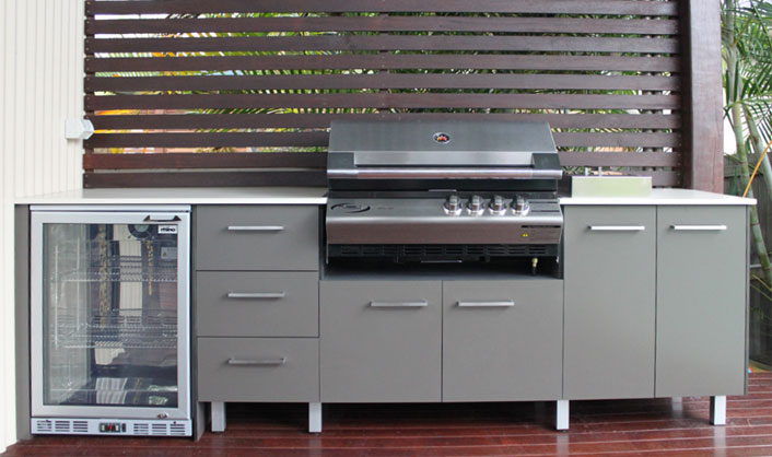Gallery bv kitchens for Bunnings kitchen cabinets